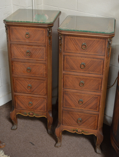 Antique Pair of Nightstands/Lingerie Chests by Phoenix Furniture Co. $2495  SOLD - Antique Furniture - ANTIQUES UNLIMITED